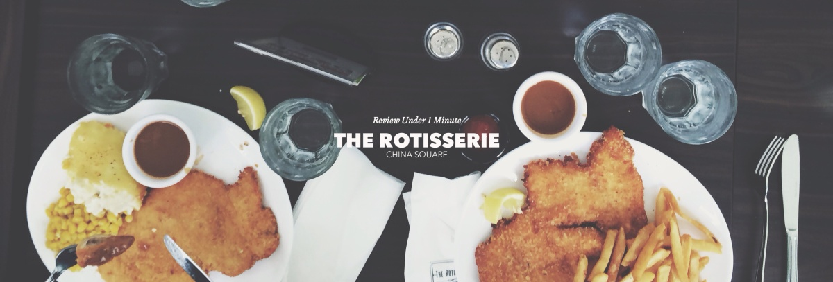 One Minute Review: Rotisserie