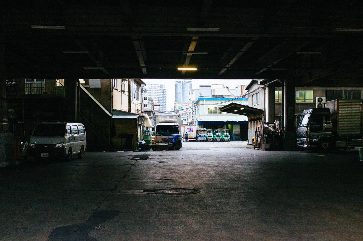 Tsukiji Fish Market 001