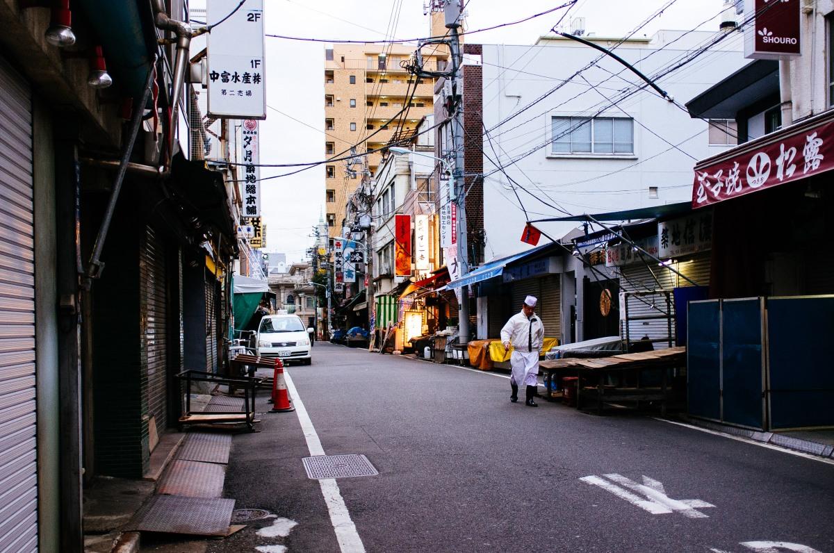Tsukiji Fish Market 003