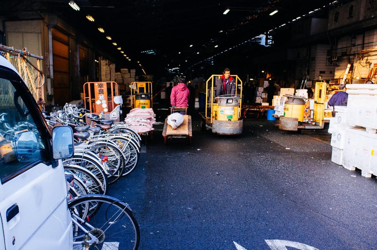 Tsukiji Fish Market 031