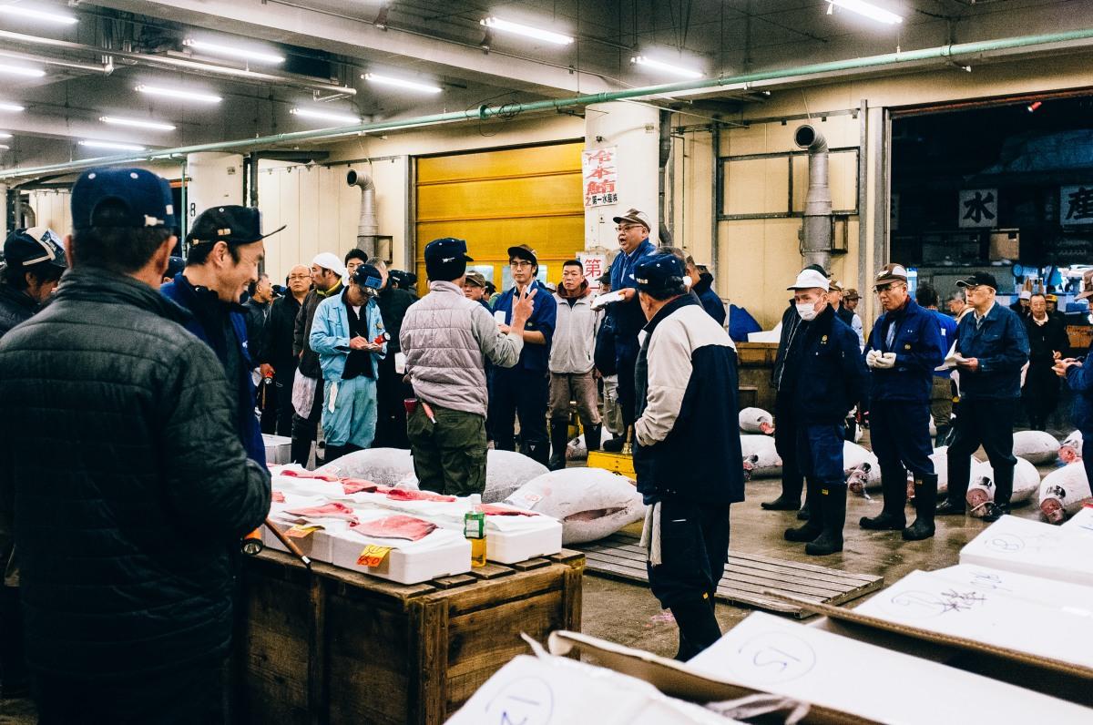 Tsukiji Fish Market 038