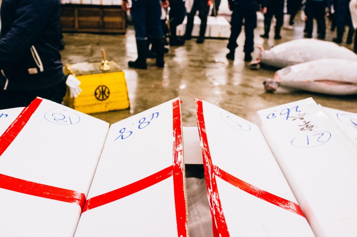 Tsukiji Fish Market 039