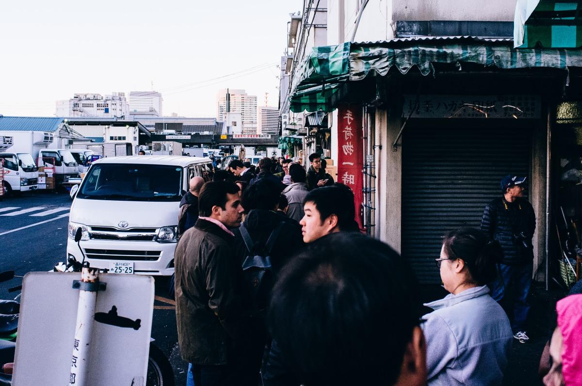 Tsukiji Fish Market 043