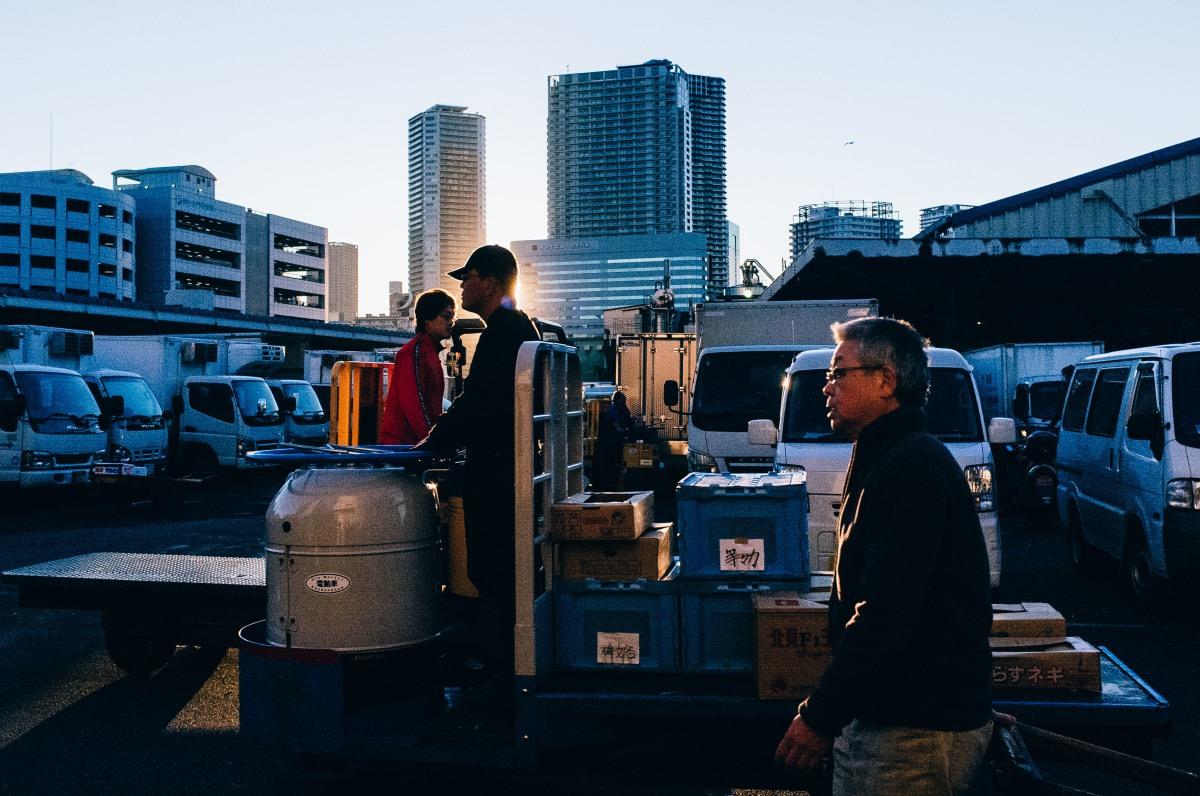 Tsukiji Fish Market 046