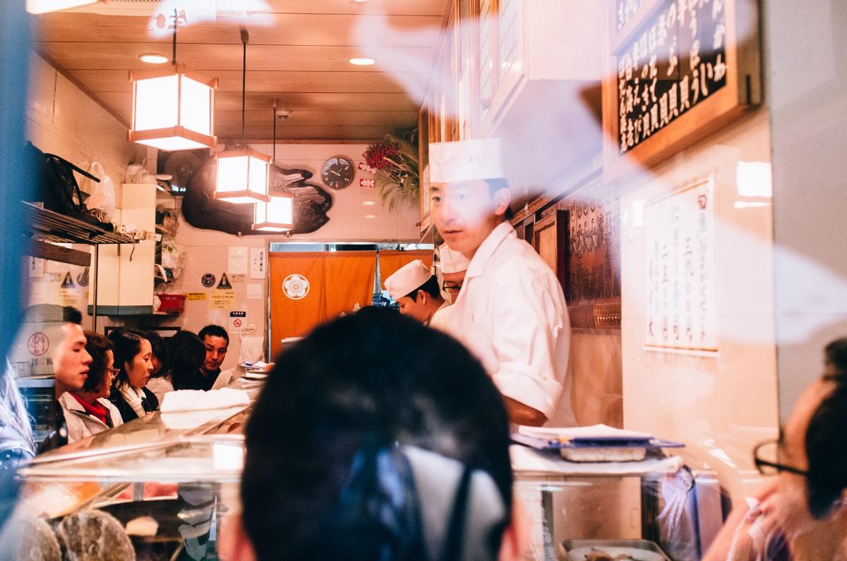 Tsukiji Fish Market 050